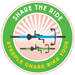 Steeple Chase Bike Tour Logo