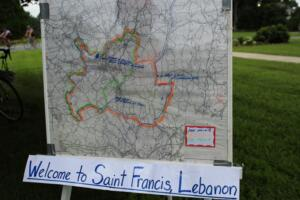 st francis map